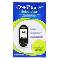 ONE TOUCH Select Plus Blutzuckermesssystem mmol/l 1 Stück - Vorderseite