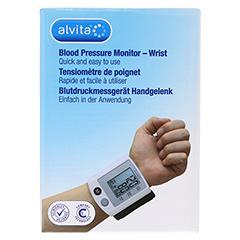 ALVITA Blutdruckmessgerät Handgelenk 1 Stück - Vorderseite