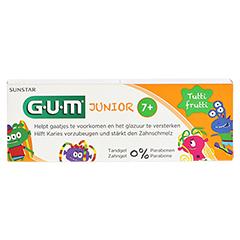 GUM Junior Zahngel Tutti-Frutti 7-12 Jahre 50 Milliliter - Vorderseite
