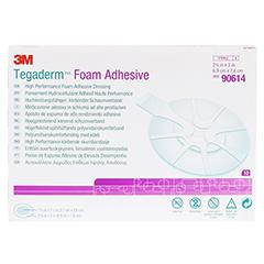 TEGADERM Foam Adhesive 6,9x7,6 cm oval 90614 10 Stück - Vorderseite