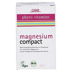 MAGNESIUM COMPACT Bio Tabletten 60 Stück - Vorderseite