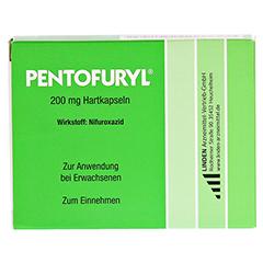 PENTOFURYL 200 mg Hartkapseln 12 Stück N1 - Vorderseite