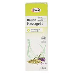 LINUSIT Bauch Massageöl 30 Milliliter - Vorderseite