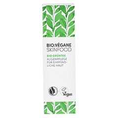 BIO VEGANE Sensitive green Tea Augenpflege Creme 15 Milliliter - Vorderseite