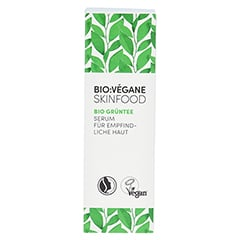 BIO VEGANE Sensitive green Tea Serum 30 Milliliter - Vorderseite