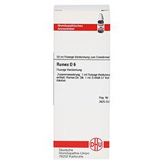 RUMEX D 6 Dilution 50 Milliliter N1 - Vorderseite