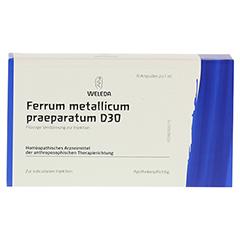 FERRUM METALLICUM PRAEPARATUM D 30 Ampullen 8x1 Milliliter N1 - Vorderseite