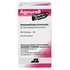 AGNURELL Potenz Accord Tabletten 200 Stück N2 - Vorderseite
