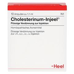 CHOLESTERINUM INJEEL Ampullen 10 Stück N1 - Vorderseite