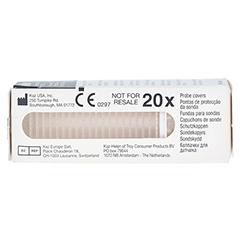 THERMOSCAN Schutzkappen für Thermometer 20 Stück - Vorderseite