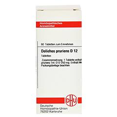 DOLICHOS PRURIENS D 12 Tabletten 80 Stück N1 - Vorderseite
