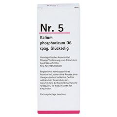 NR.5 Kalium phosporicum D 6 spag.Glückselig 100 Milliliter N2 - Vorderseite