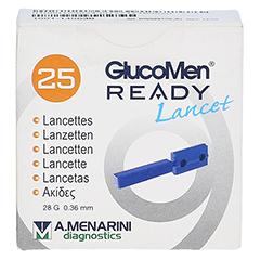 GLUCOMEN READY Lancets 25 Stück - Vorderseite