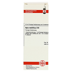 APIS MELLIFICA D 8 Dilution 50 Milliliter N1 - Vorderseite