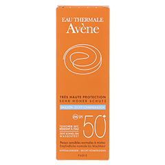 AVENE SunSitive Sonnenemulsion SPF 50+ 50 Milliliter - Vorderseite