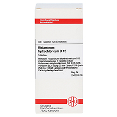 HISTAMINUM hydrochloricum D 12 Tabletten 200 Stück N2 - Vorderseite