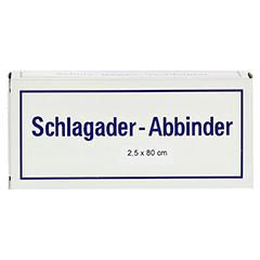ARTERIENABBINDER 2,5x80 cm 101071 1 Stück - Vorderseite