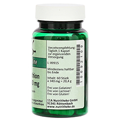 GLUTATHION RED 100 mg reduziert Kapseln 60 Stück - Linke Seite