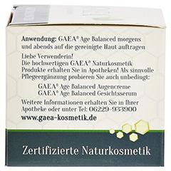 GAEA Age Balanced Gesichtscreme 50 Milliliter - Linke Seite