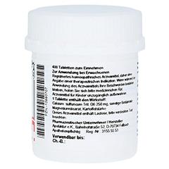 SCHÜSSLER Nr.12 Calcium sulfuricum D 6 Tabletten 400 Stück - Linke Seite