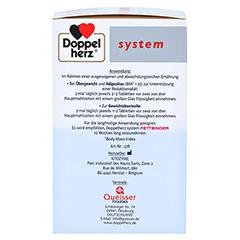 DOPPELHERZ Fettbinder mit KiObind system Tabletten + gratis Doppelherz Diät Shake 500 g PZN11138109 150 Stück - Linke Seite