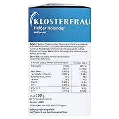 KLOSTERFRAU Broncholind heißer Holunder Granulat 10x15 Gramm - Linke Seite