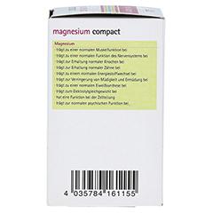 MAGNESIUM COMPACT Bio Tabletten 60 Stück - Linke Seite
