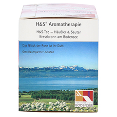 H&S Bio Rose-Karkade Aromatherapie Filterbeutel 20 Stück - Linke Seite