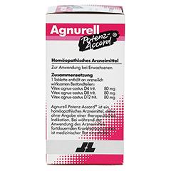 AGNURELL Potenz Accord Tabletten 200 Stück N2 - Linke Seite