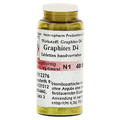 GRAPHITES D 4 Tabletten 40 Stück N1 - Linke Seite