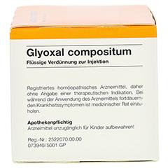 GLYOXAL compositum Ampullen 50 Stück N2 - Linke Seite