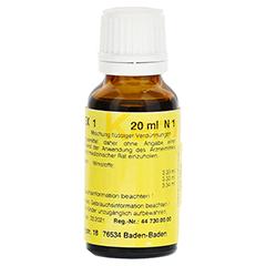 MERIDIANKOMPLEX 1 Tropfen zum Einnehmen 20 Milliliter N1 - Linke Seite