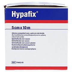 HYPAFIX Klebevlies hypoallergen 5 cmx10 m 1 Stück - Linke Seite
