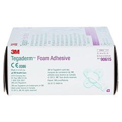 TEGADERM 3M Foam Adhesive 7x7 cm kreuzform 90615 10 Stück - Rechte Seite