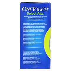 ONE TOUCH Select Plus Blutzuckermesssystem mmol/l 1 Stück - Rechte Seite