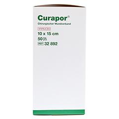CURAPOR Wundverband steril chirurgisch 10x15 cm 50 Stück - Rechte Seite