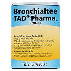 Bronchialtee TAD Pharma 50 Gramm - Rechte Seite