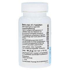 BASIS VITAL F Tabletten 120 Stück - Rechte Seite