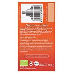 YOGI TEA Nach dem Essen Bio Filterbeutel 17x1.8 Gramm - Rechte Seite