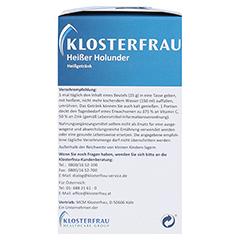 KLOSTERFRAU Broncholind heißer Holunder Granulat 10x15 Gramm - Rechte Seite