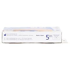 DERMAPLAST MEDICAL leicht blutende Wunde 5x7,2 cm 5 Stück - Rechte Seite