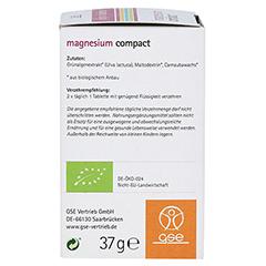 MAGNESIUM COMPACT Bio Tabletten 60 Stück - Rechte Seite
