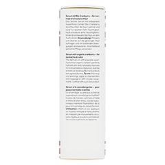 BIO VEGANE Moisture Cranberry Serum 30 Milliliter - Rechte Seite