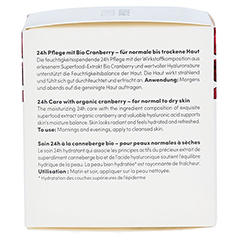 BIO VEGANE Moisture Cranberry 24 h Pflege Creme 50 Milliliter - Rechte Seite