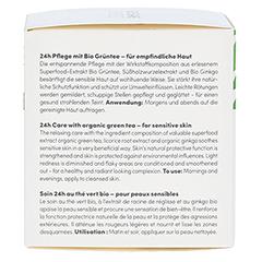 BIO VEGANE Sensitive green Tea 24 h Pflege Creme 50 Milliliter - Rechte Seite