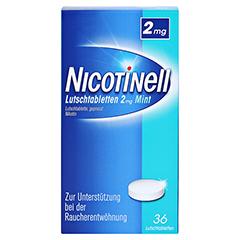 Nicotinell 2mg Mint 36 Stück - Vorderseite