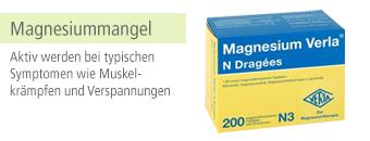 Magnesiummangel Themenshop