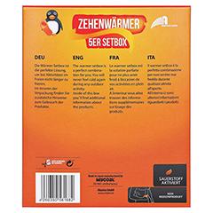 ONLY Hot Warmers Zehenwärmer Setbox 5x2 Stück - Rückseite