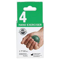 THERA BAND Handtrainer mittel grün 1 Stück - Rückseite