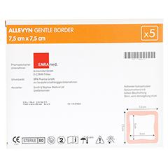 ALLEVYN Gentle Border 7,5x7,5 cm Schaumverb. 5 Stück - Rückseite